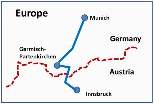 Map Of Germany Garmisch.Fooddynamics